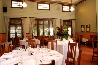 Private dining room, Q Station