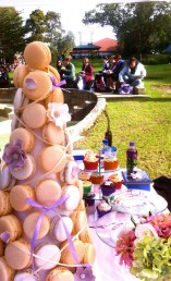 Croquembouche display
