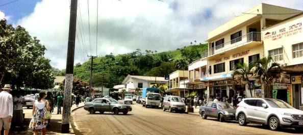 Main street Savusavu