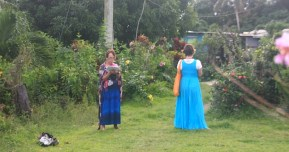Betty and Toni at Vivili