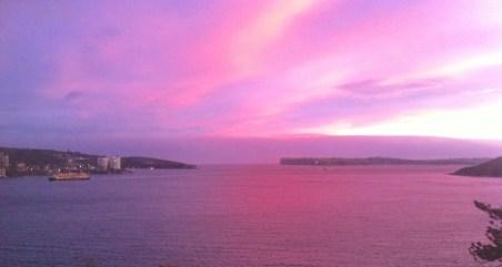 Sunset Thursday