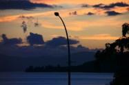 Fantastic sunset colours on Lake Taupo NZ