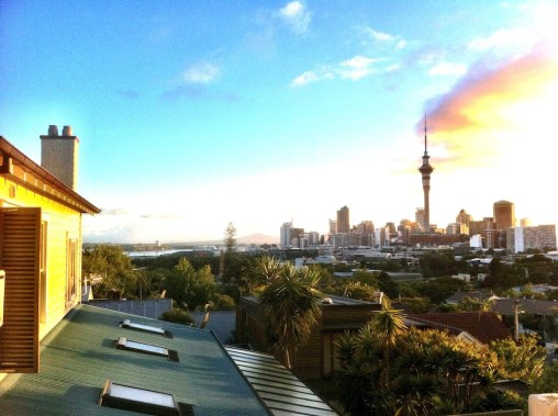 View to Auckland