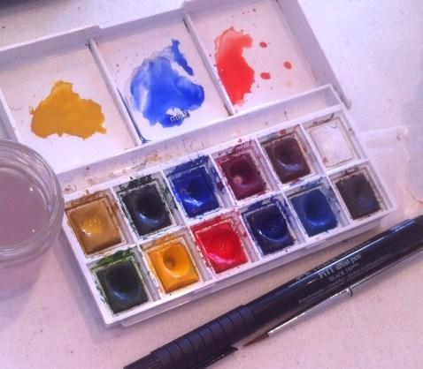 3 Favourite colours
