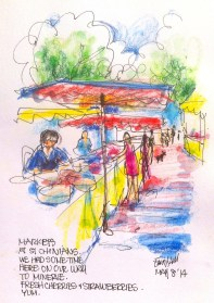 St Chinian's Market