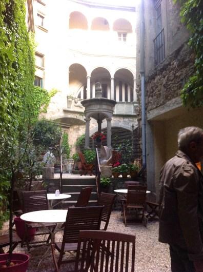 The well at Hotel D'Alibert Caunes