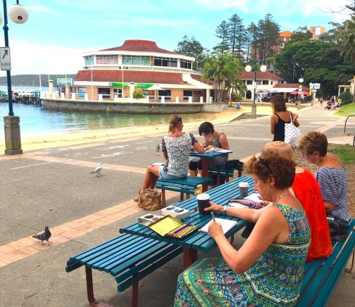 Friday at Manly Cove