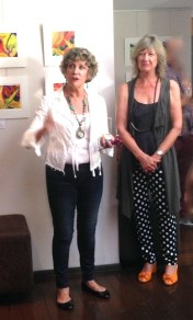 Erin & Glenys Opening the Show