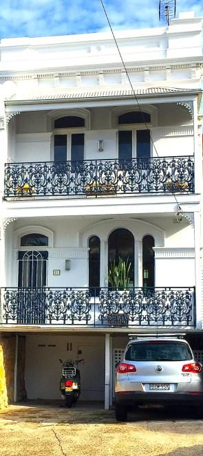 S&F. Terrace house