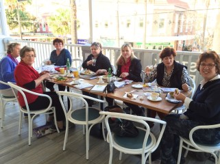 Tuesday. Ivanhoe lunch