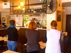 Wednesday. The Bar at De Vita