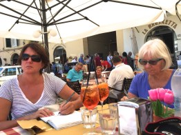 Sunday lunch sketching Lucca