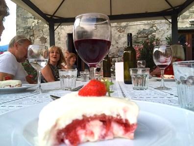 Tuesday Last Dinner. Strawberry Tiramisu jpg
