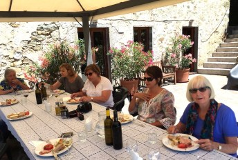 Wednesday. Lunch at Val di Pozza