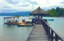 Tuesday Fiji. Boarding the Pearl boat