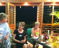 Tuesday Fiji. Drinks before dinner