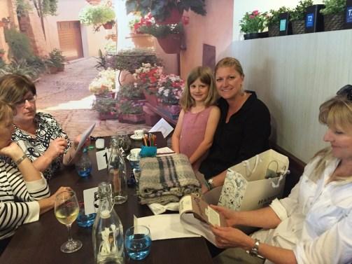 Farewell lunch Christy