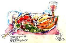 Lunch Domaine PaulHuc