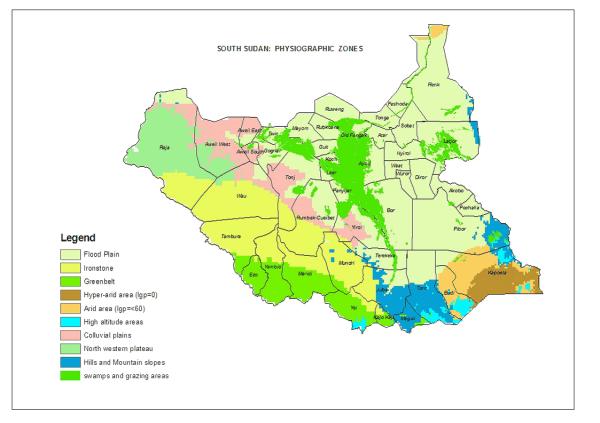 Map of South Sudan PaanLuel Wël Media Ltd South Sudan