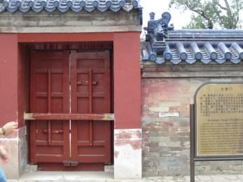 Neighborhood village door