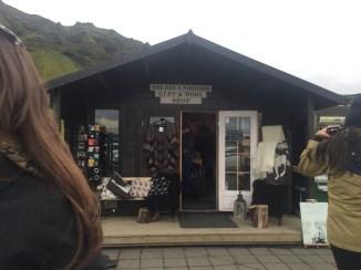 Souvenir Shop at Seljalandsfoss