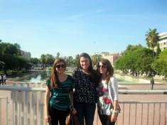 Mel, Eva, Erin about to take on Nice!