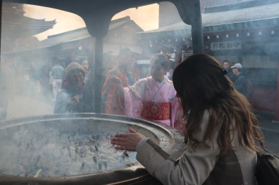 Breathing incense