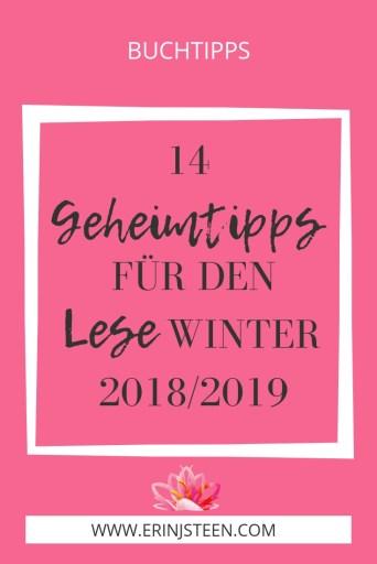 14 Geheimtipps für den Lesewinter 2018/2019 Buchtipps