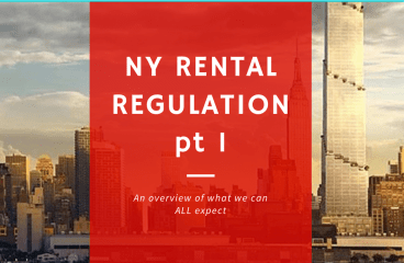 let's talk: THE NEW NY RENTAL REGULATIONS, PT II