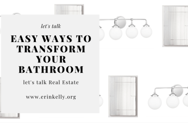 let's talk: EASY WAYS TO TRANSFORM YOUR BATHROOM