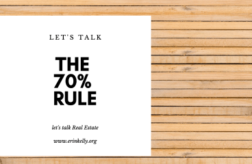 let's talk : THE 70% RULE