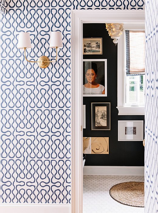 one-kings-lane_pencil-paper_vertical-into-bathroom-with-wallpaper