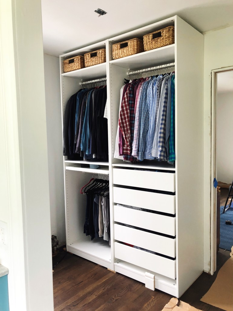 Hacking the IKEA Pax into a Fully Custom Closet - Erin Kestenbaum