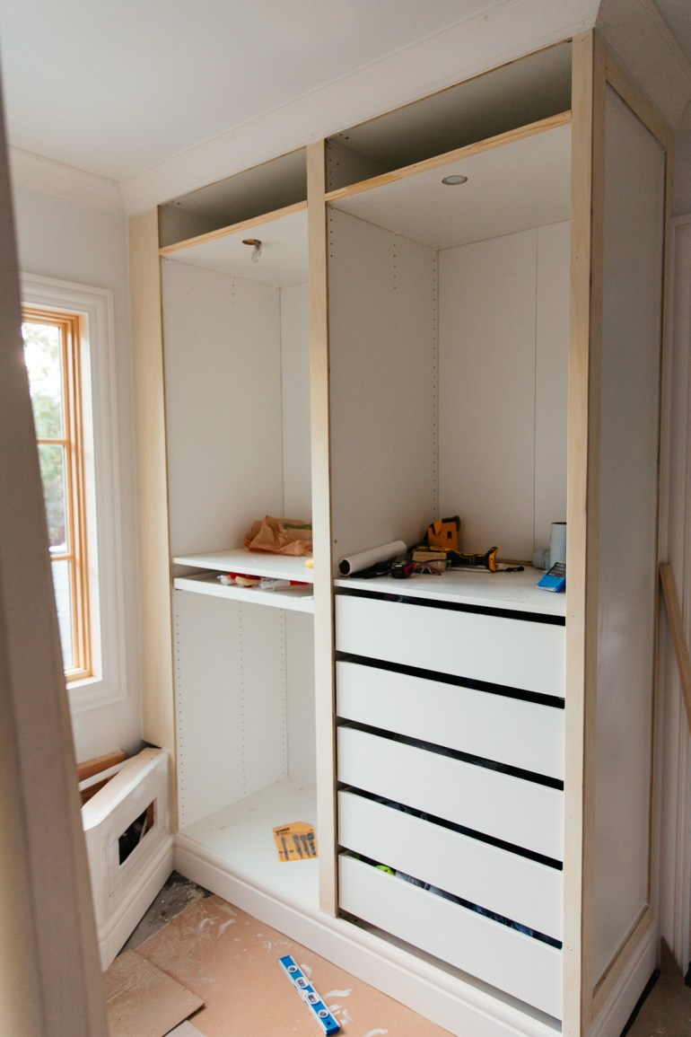 Hacking the IKEA Pax into a Fully Custom Closet - Erin Kestenbaum