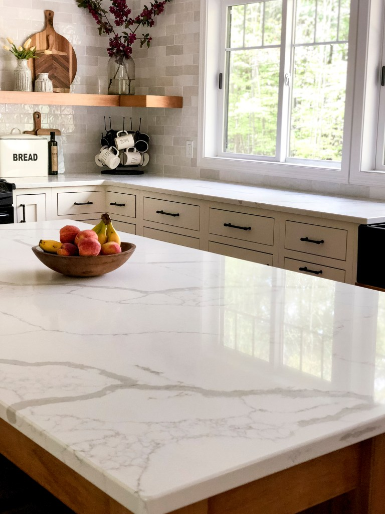 How we decided on marble countertops and how to care for them - Erin  Kestenbaum