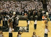 Michigan State Basketball Cheerleaders