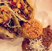 El Patron shrimp tacos (Photo by Erin Klema)
