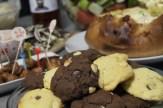 Delicious biscuits/cookies.
