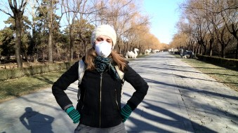 CHINA linda mask ming tombs