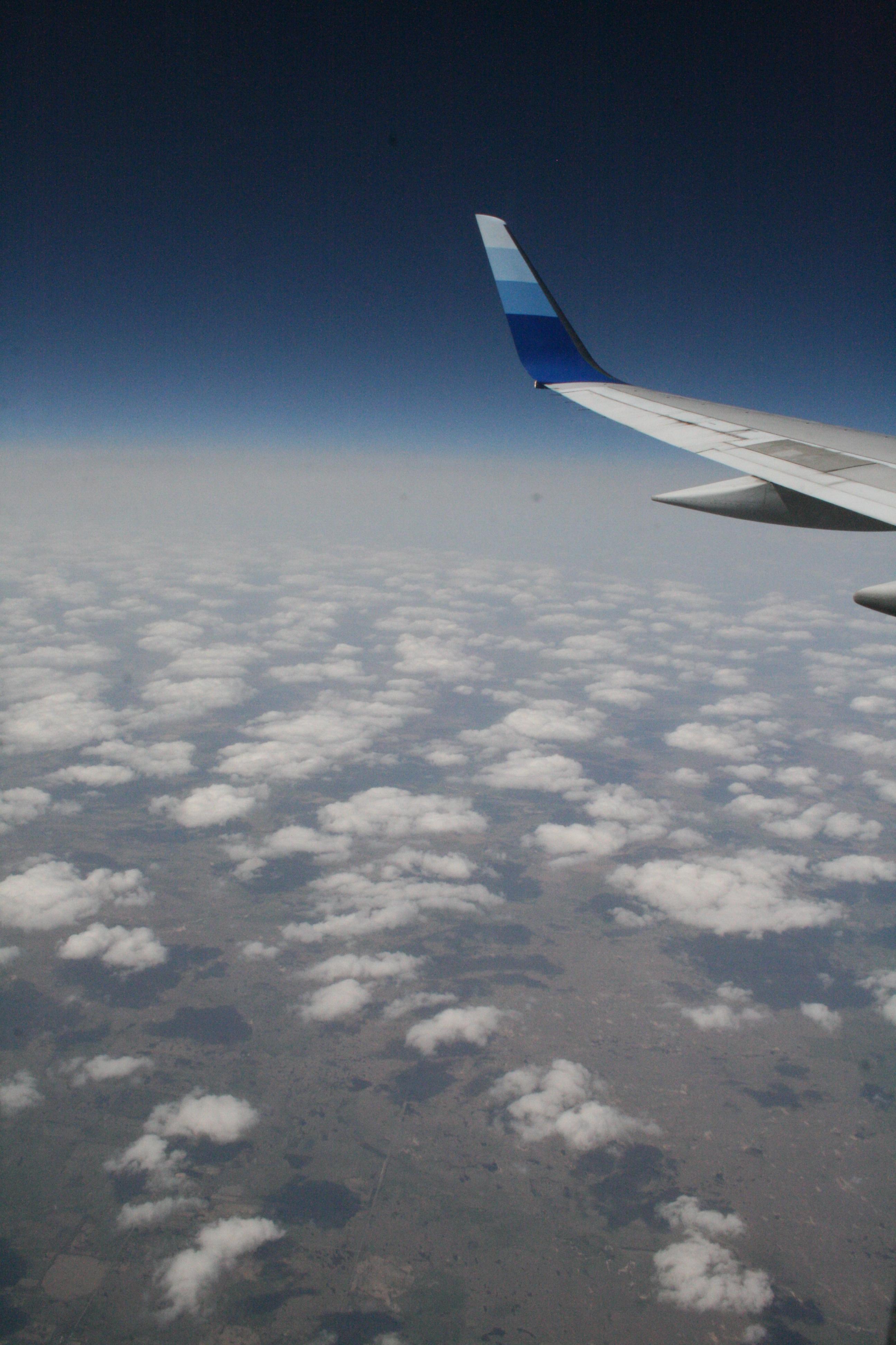 I'm going to say this is somewhere over Wisconsin.