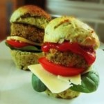 Vegetarian Falafel Burger Slider Recipe