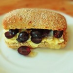 Cafe Style Brie and Grape Sandwiches