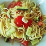Easy Vegetarian Greek Zucchini Pasta Recipe