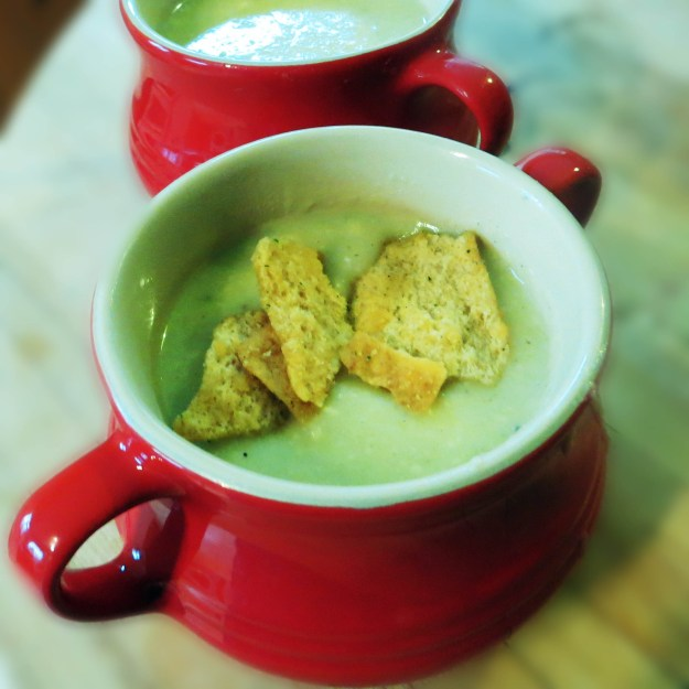 Welsh Leek and Caerphilly Soup