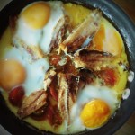 Sardines and Eggs Quick Cheap One Dish Recipe