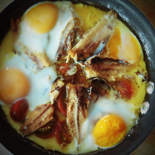 Sardines and Eggs