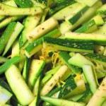 Easy Vegetarian Zucchini Feta Pasta Recipe