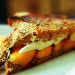 Grilled Peach Caprese Sandwich