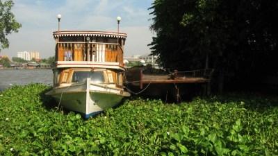A Boat on the Chao Phraya