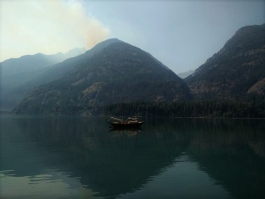The Wolverine Fire from Stehekin